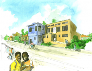 Haiti Project artists impression