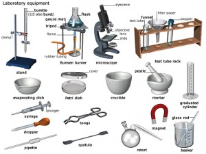 School science equipment