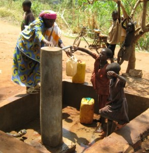 Water point at the clinic site001-1