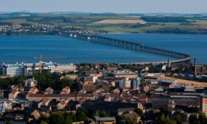Dundee  and Tay Bridge