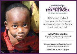 Ambassadors event
